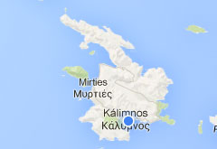 Interactive map of Kalymnos